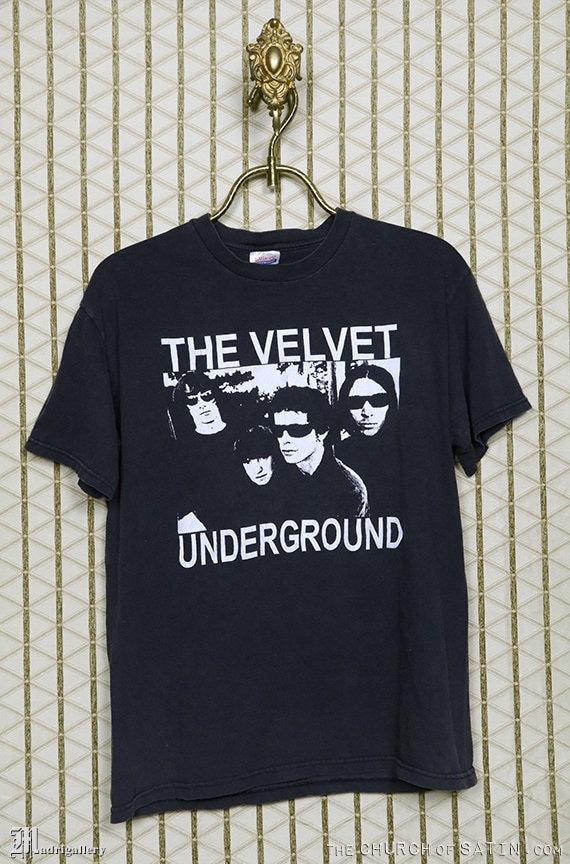Velvet Underground shirt, vintage t-shirt, Lou Ree