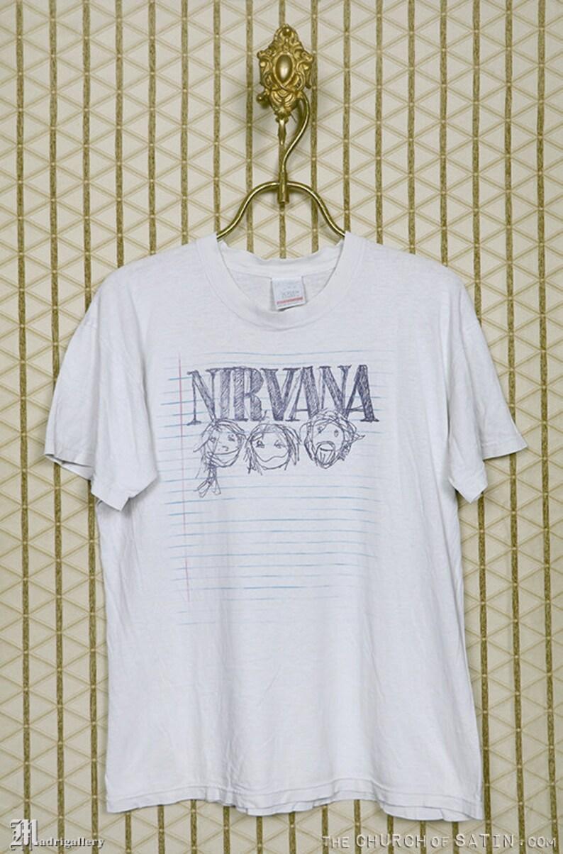 d244a97e Nirvana t-shirt vintage rare Kurt Cobain tee shirt Mudhoney | Etsy