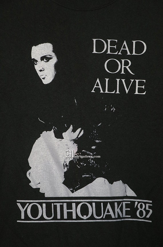 Dead Or Alive Pete Burns T Shirt Youthquake Soft Black Tee Etsy