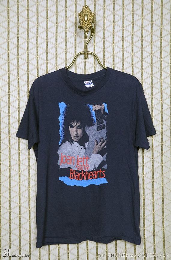 Joan Jett t-shirt, vintage rare tee, 1980s 80s 80'