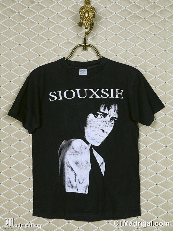 Siouxsie and the Banshees t-shirt, vintage rare Si