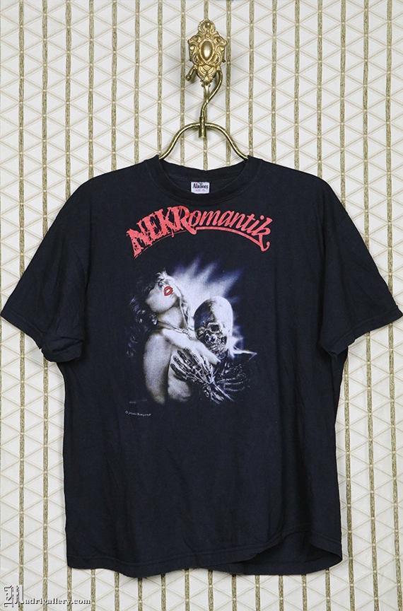 Nekromantik horror movie t-shirt, vintage tee shir
