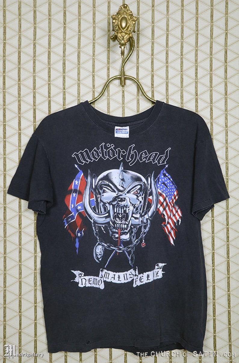 ddcf3495 Motörhead 1991 tour t shirt vintage concert tee shirt | Etsy