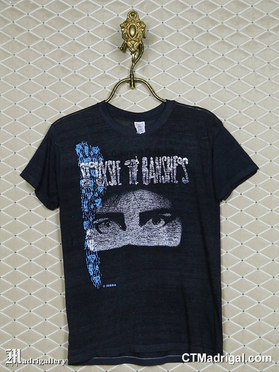 Siouxsie and the Banshees tour t-shirt 1980s Sioux