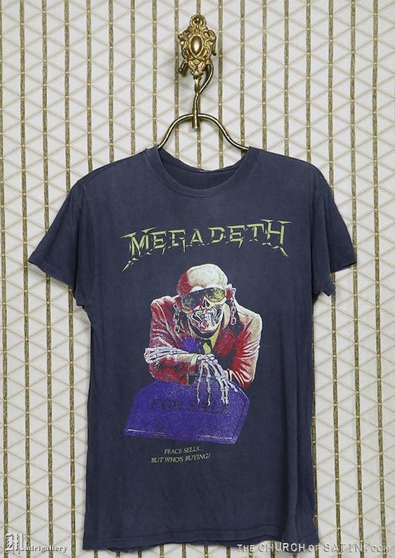 Megadeth Peace Sells Unisex Camiseta Negro,