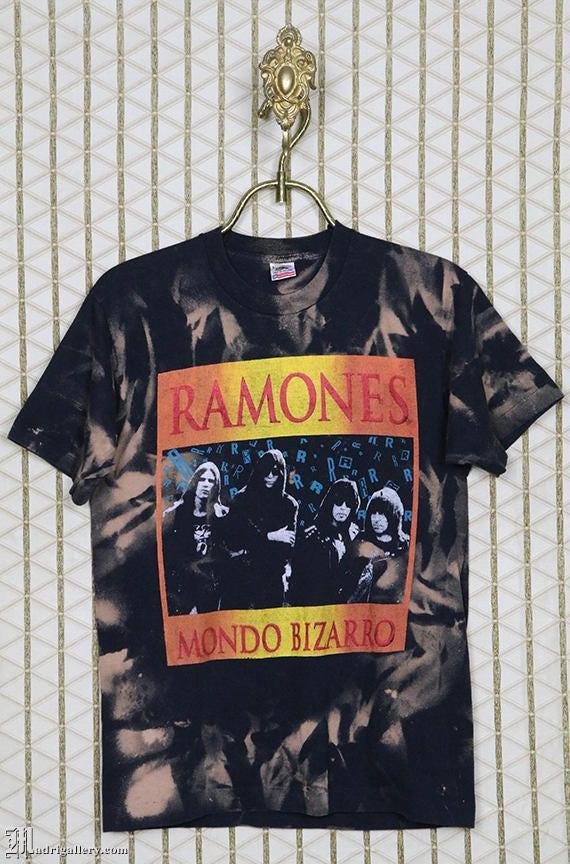 The Ramones t shirt, Mosquitohead vintage rare tee
