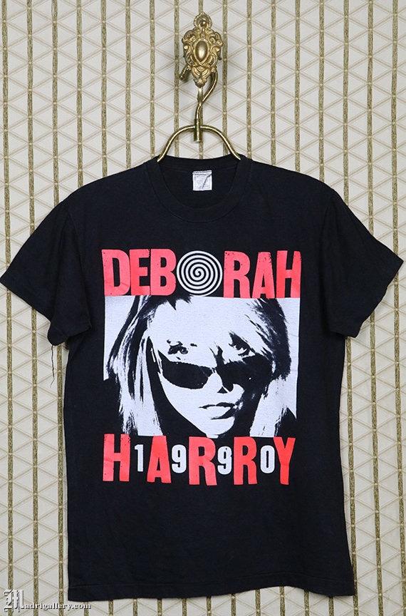 Debbie Deborah Harry vintage rare T-shirt, Blondie