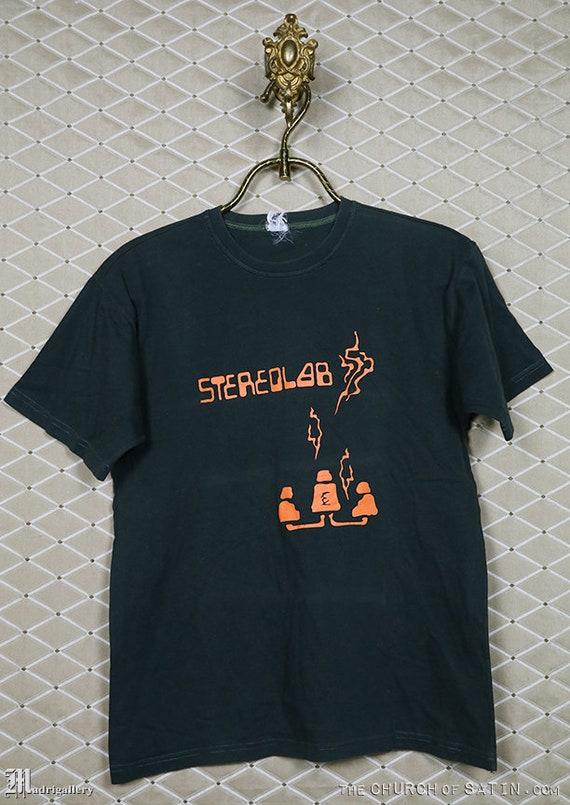 Stereolab t-shirt, vintage rare tee shirt Spiritua