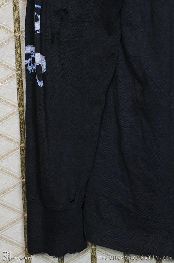 RÉSERVÉ - notice nécrologique chemise, t-shirt métal noir, Terrorizer, Possessed, autopsie, Terrorizer, noir, Morbid Angel, Grindcore, satanisme, occulte, à manches longues 97a879