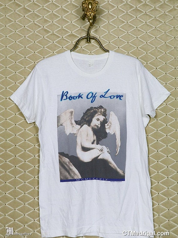 Book of Love t-shirt, vintage rare goth tee shirt,