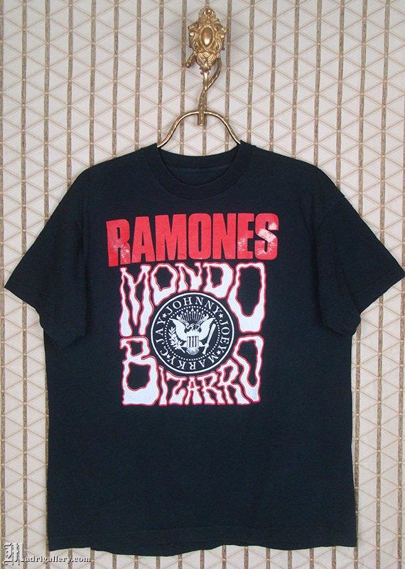 The Ramones, Mondo Bizarro shirt, vintage rare tee