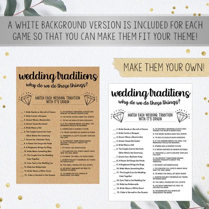 Kraft Paper Game Wedding Game Shower Games Bundle Bridal Shower Instant Download Bridal Shower Games Printable Bridal Shower Game Idea