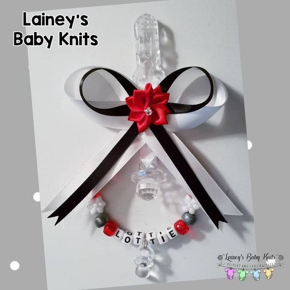 Personalised stunning pram charm in red 7 colour ideal gift