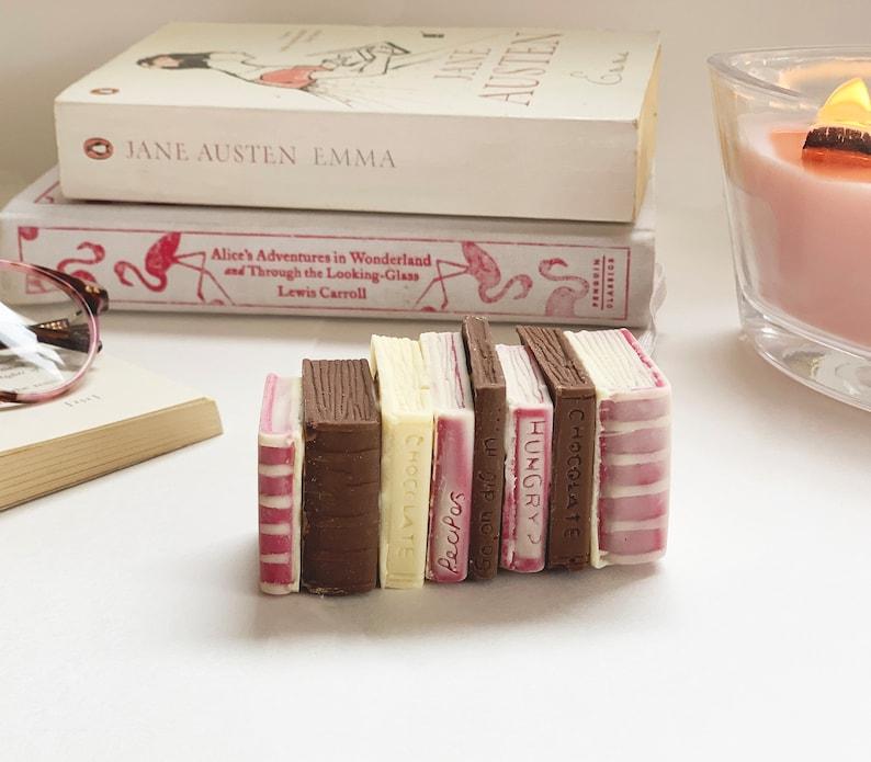 Miniature Chocolate Books  Teacher Gifts  Chocolate Book image 0