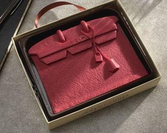 Pink Designer Chocolate Handbag