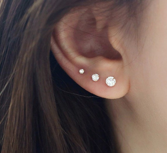 Cartilage Earring Cartilage Piercing Conch Piercing Helix Etsy