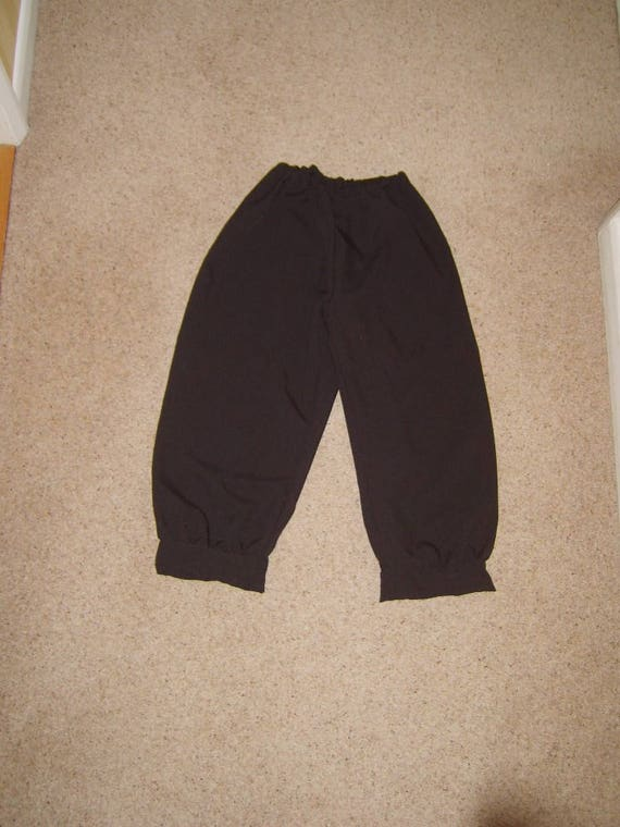Size L Mens Brown Breeches PIrate Tudor Peasant Victorian Period Trousers
