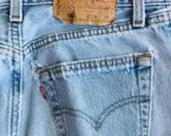 Vintage Used Levi 501 Jeans