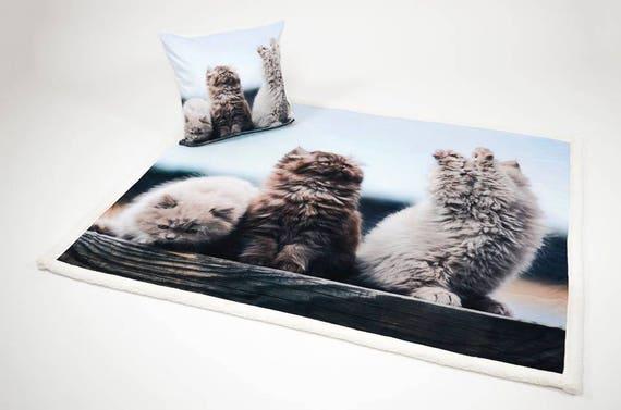Tappeto Morbidotto : Daunex scaldotto plaid morbidotto cats gatti pussy cat mis etsy
