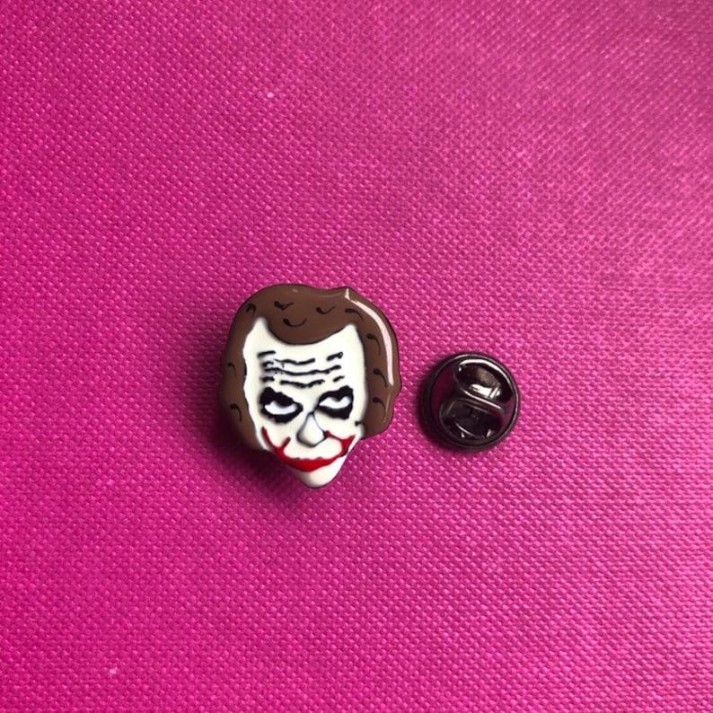 Batman Brooch Pin Lapel Brooch Pin Joker Face Pin New Lapel Pins PIN433 Enamel Pin Batman Pin Joker Pin