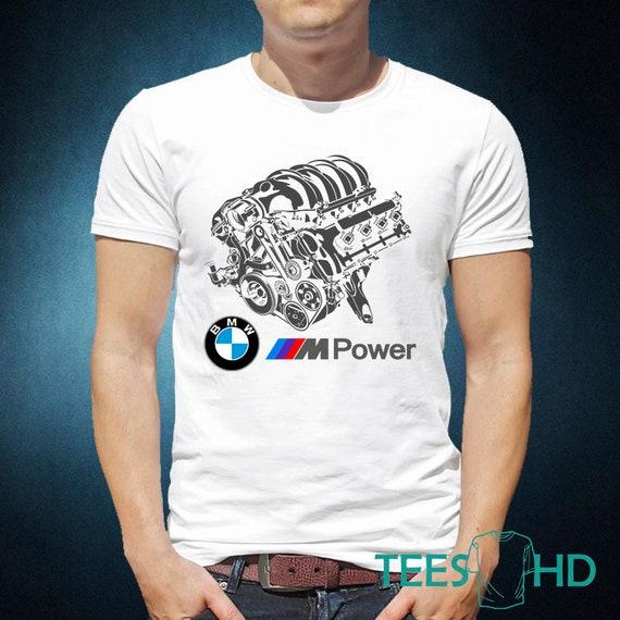 61d4404046 bmw herren t-shirt bmw m power bmw-logo-shirt | etsy