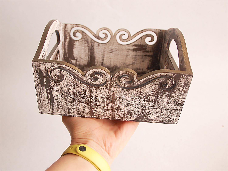 creux bo te petite caisse en bois table en bois creux. Black Bedroom Furniture Sets. Home Design Ideas
