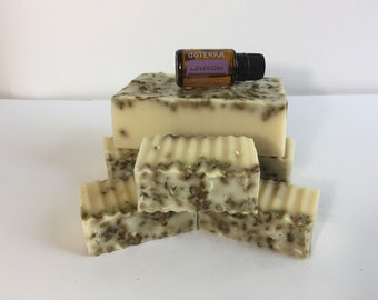 Find Your Zen - Whole Loaf of home made Lavender goats milk and honey soap