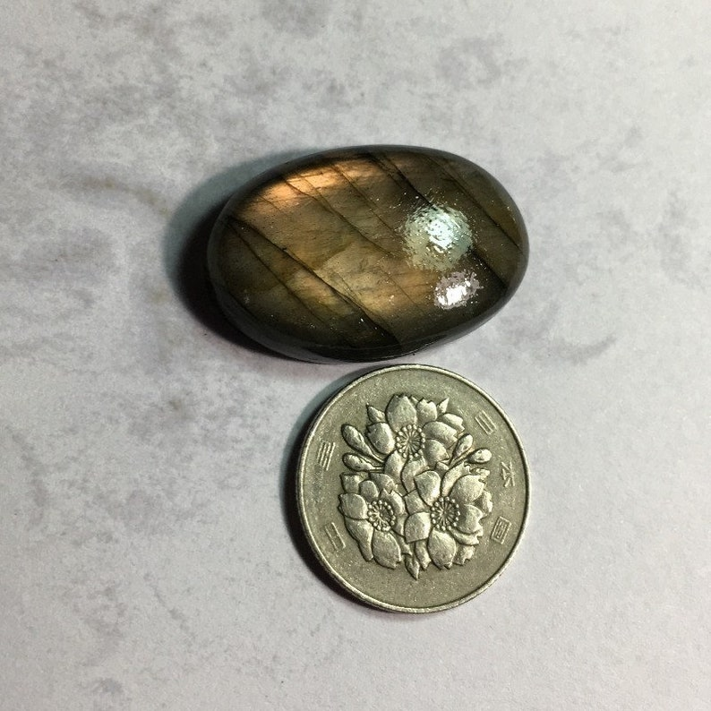Labradorite Cabochon Gemstone
