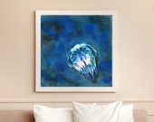 Jellyfish painting (fine art print)