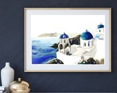 Mediterranean chapel architecture landscape fine art print