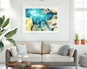 Ocean Rocks Painting