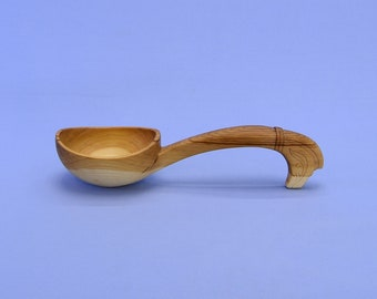 Handmade wooden bucket, horse head handle, eco-friendly tableware. For honey, oil and other products. #200