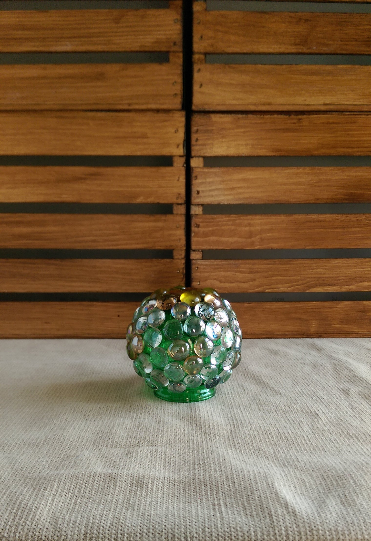 GLASS GAZING BALL / Glass garden globe / Glass garden ball / | Etsy
