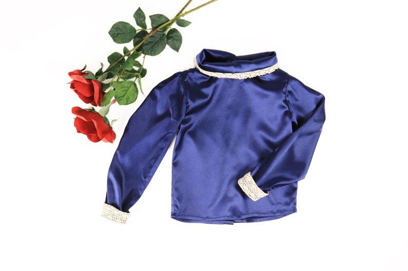 Charlotte blouse PDF pattern download