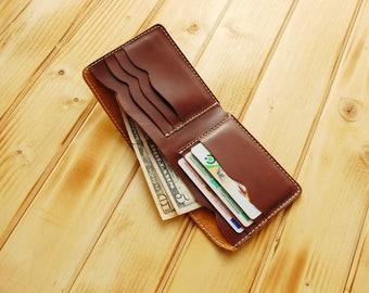 Personalization purse, men's wallet, card holder, purse, men's wallet, leather wallet, compact credit cards