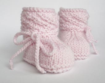 Baby shoes, knitted, baby socks, knitting, baby socks, baby boots