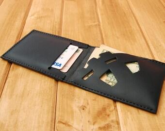Mens wallet, card holder, purse, men's purse, wallet