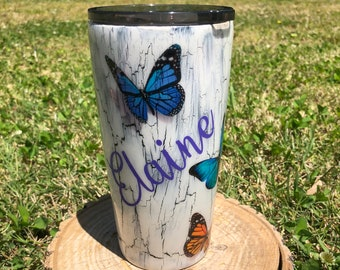 Painted Tumblers Etsy
