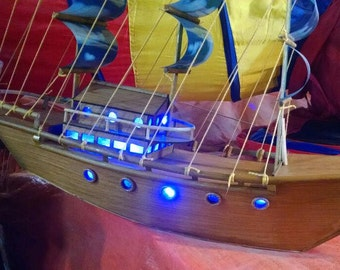 Wooden Ship (Hand-made)