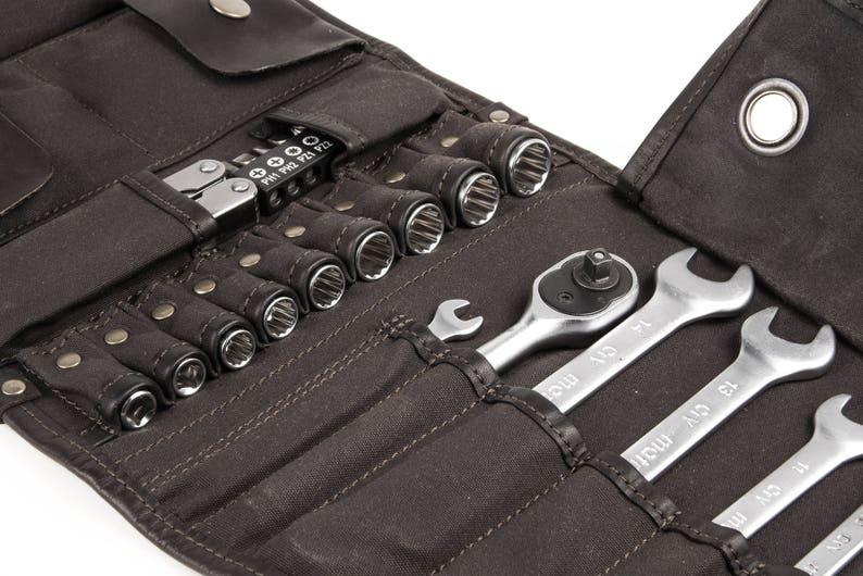 Motorcycle Tool Bag >> Motorcycle Tool Roll Universal Tool Roll Mens Tool Roll Etsy