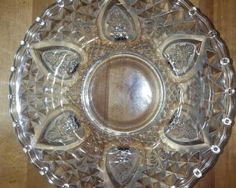 Fleur-De-Lis Hearts and Roses bowl