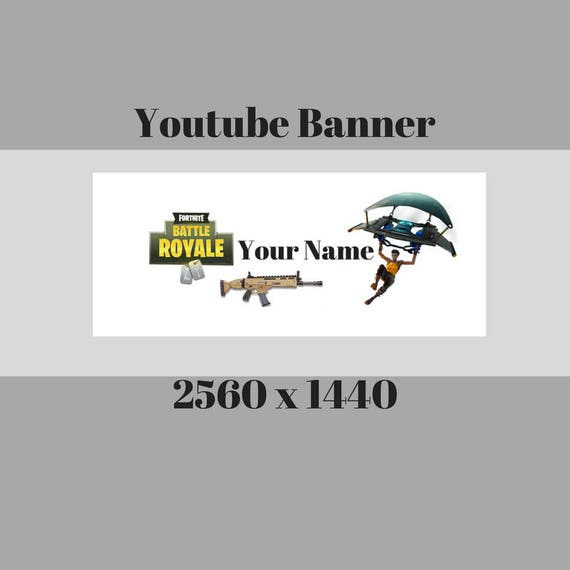 Fortnite Battle Royale Youtube Channel Banners Channel Art Etsy