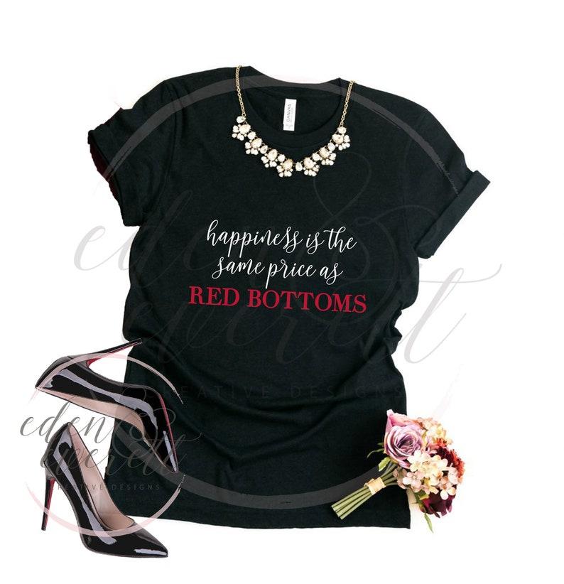 b52d7b86a7f Christian Louboutin Shirt l Ariana Grande l Statement Tee l Fashionista l  Glam Shirt