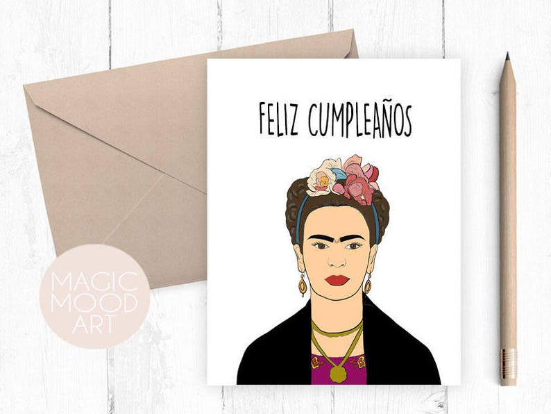 Feliz Cumpleanos Card Birthday Happy
