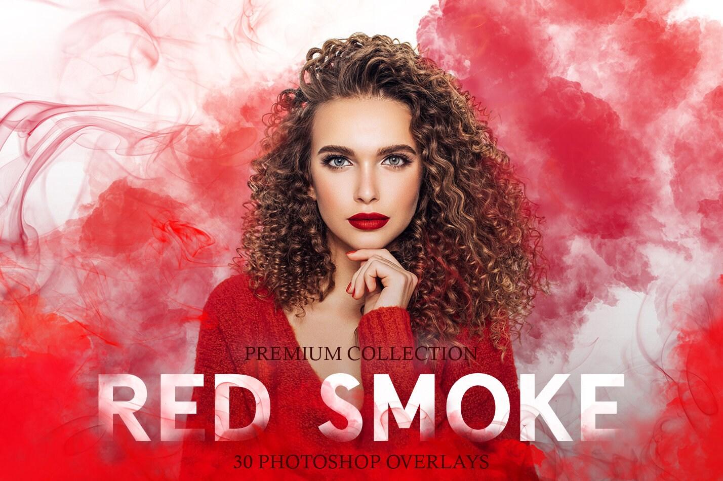 Red Smoke Photoshop Overlays [Red Smoke Overlay, Red Smoke PNG, Red Smoke  PNG Transparent, PNG Red Smoke]