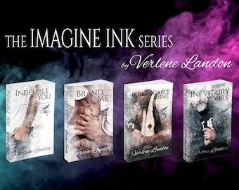 Signed Imagine Ink Paperbacks (Books 1-4)