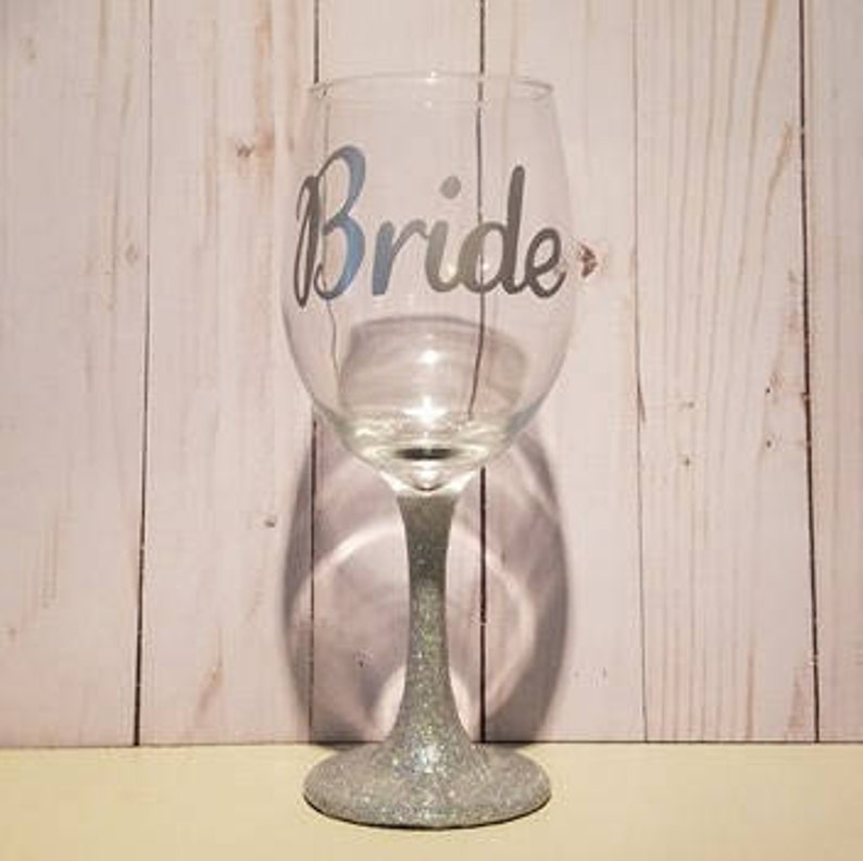 Beautiful Bride Wine Glass Gift
