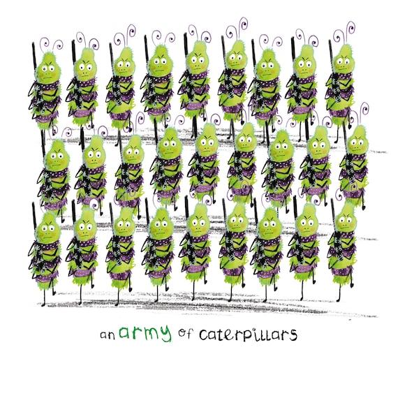 Army of Caterpillars