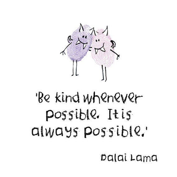 'Be Kind' Quote Digital Card