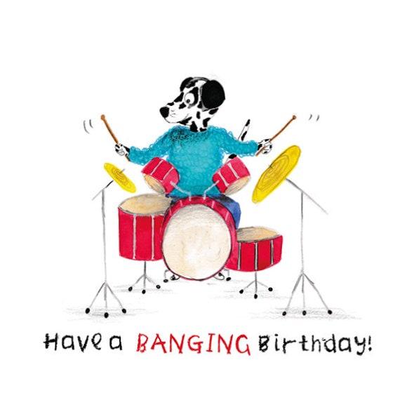 Happy Birthday Digital Dog Card